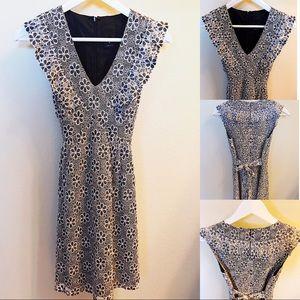 Anna Sui Floral lace Dress